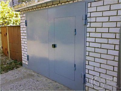 okrashivanie-garazhnyh-vorot